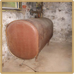 Aboveground Oil Tank Removal