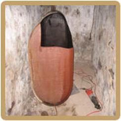 Basement oil tank removal