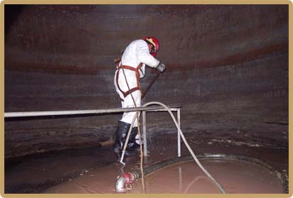 Tank Cleaning - Confined Space Entry