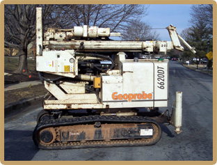 Geoprobe ATV DRilling Unit