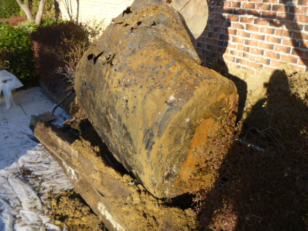 leaking oil tank cleanup