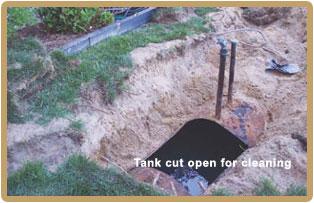 NJ oil tank removal