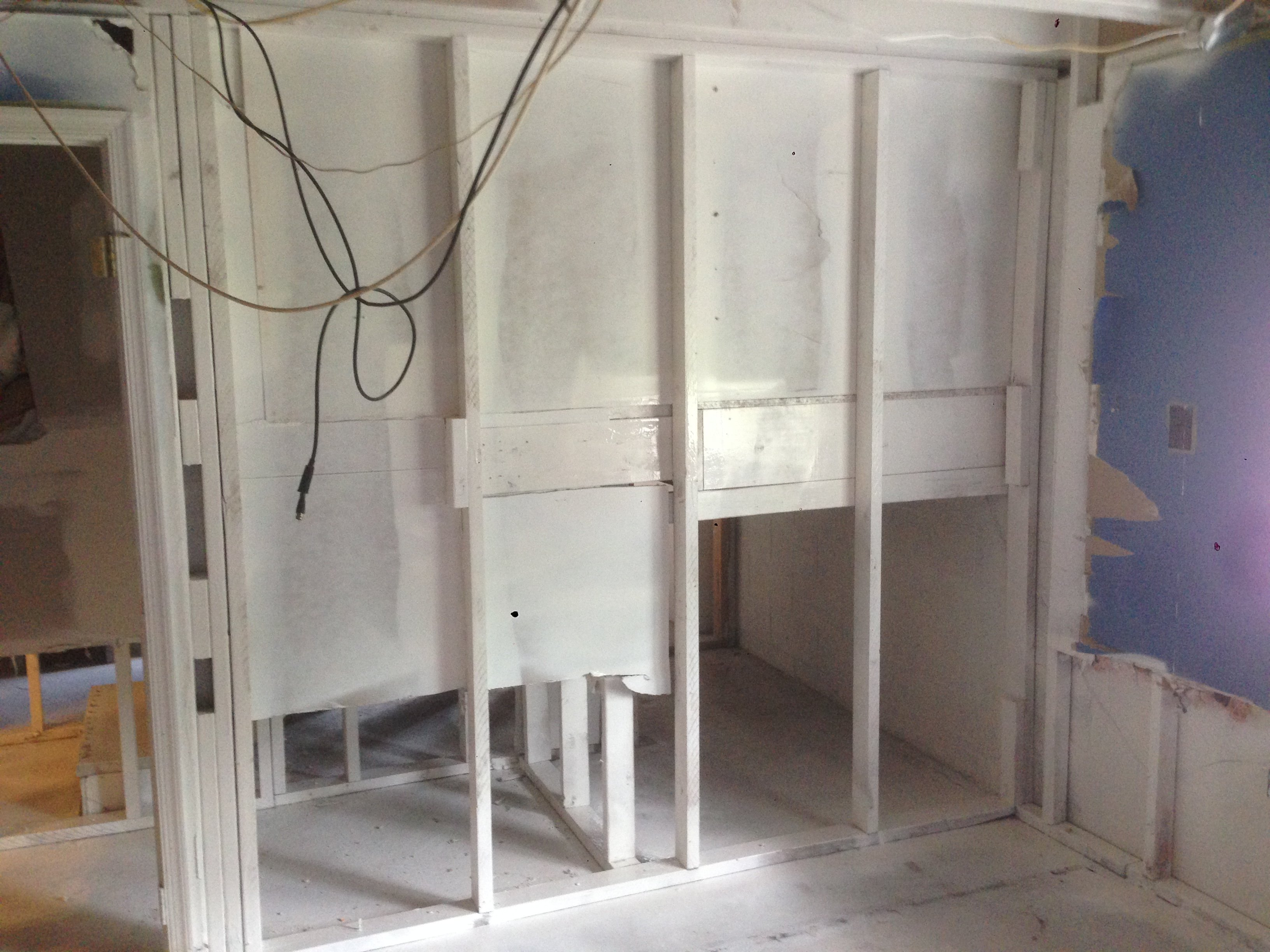 Coat mold remediated areas with a fungistatic coating