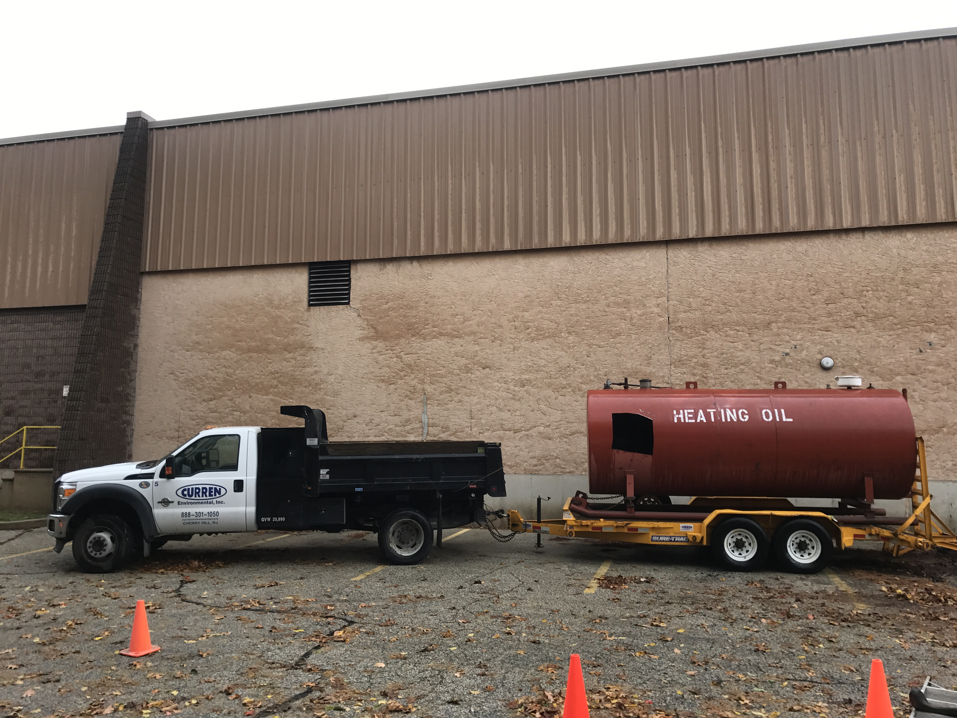 heating oil tank cleaning