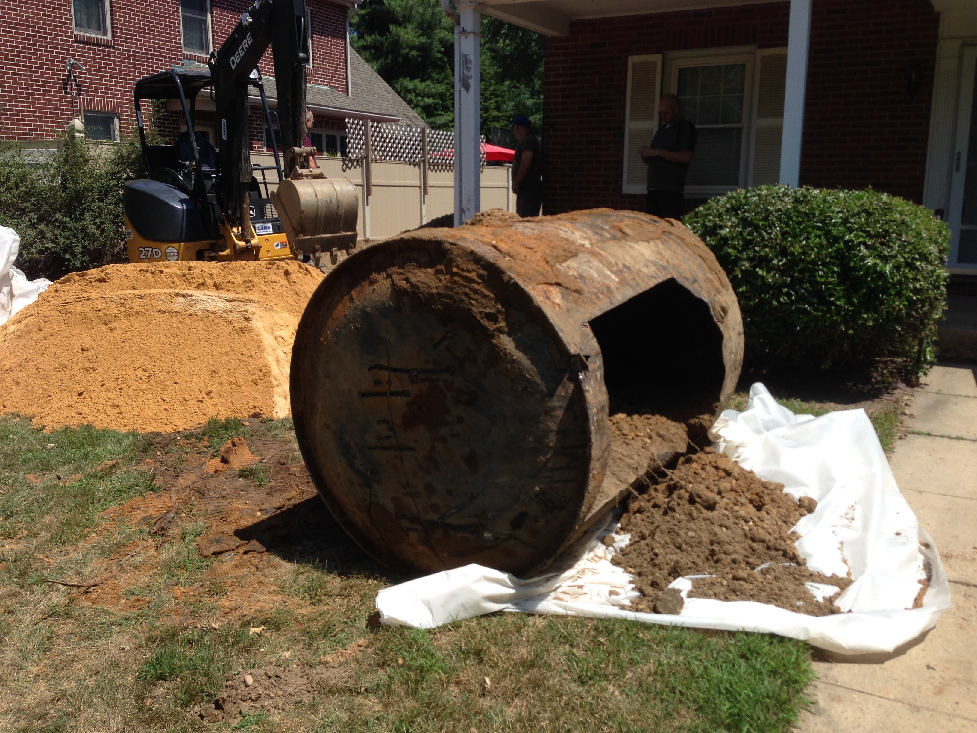 residential oil tank removal
