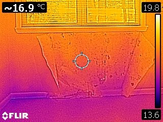 Infrared mold inspection