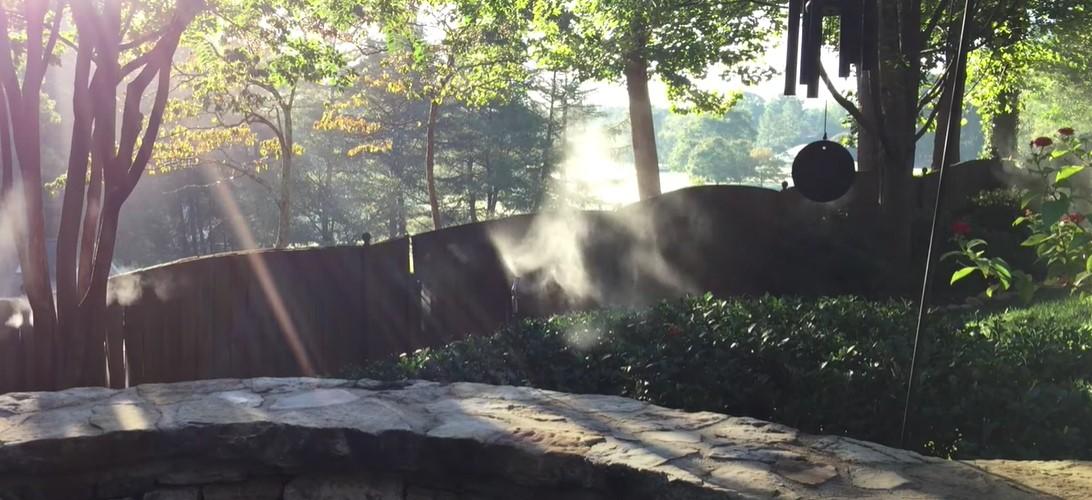 Mosquito Mist Backyard