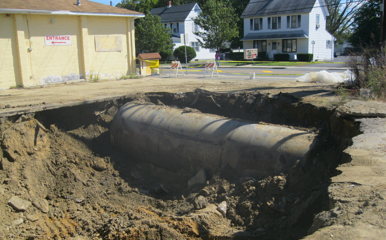 tank removal commercial property