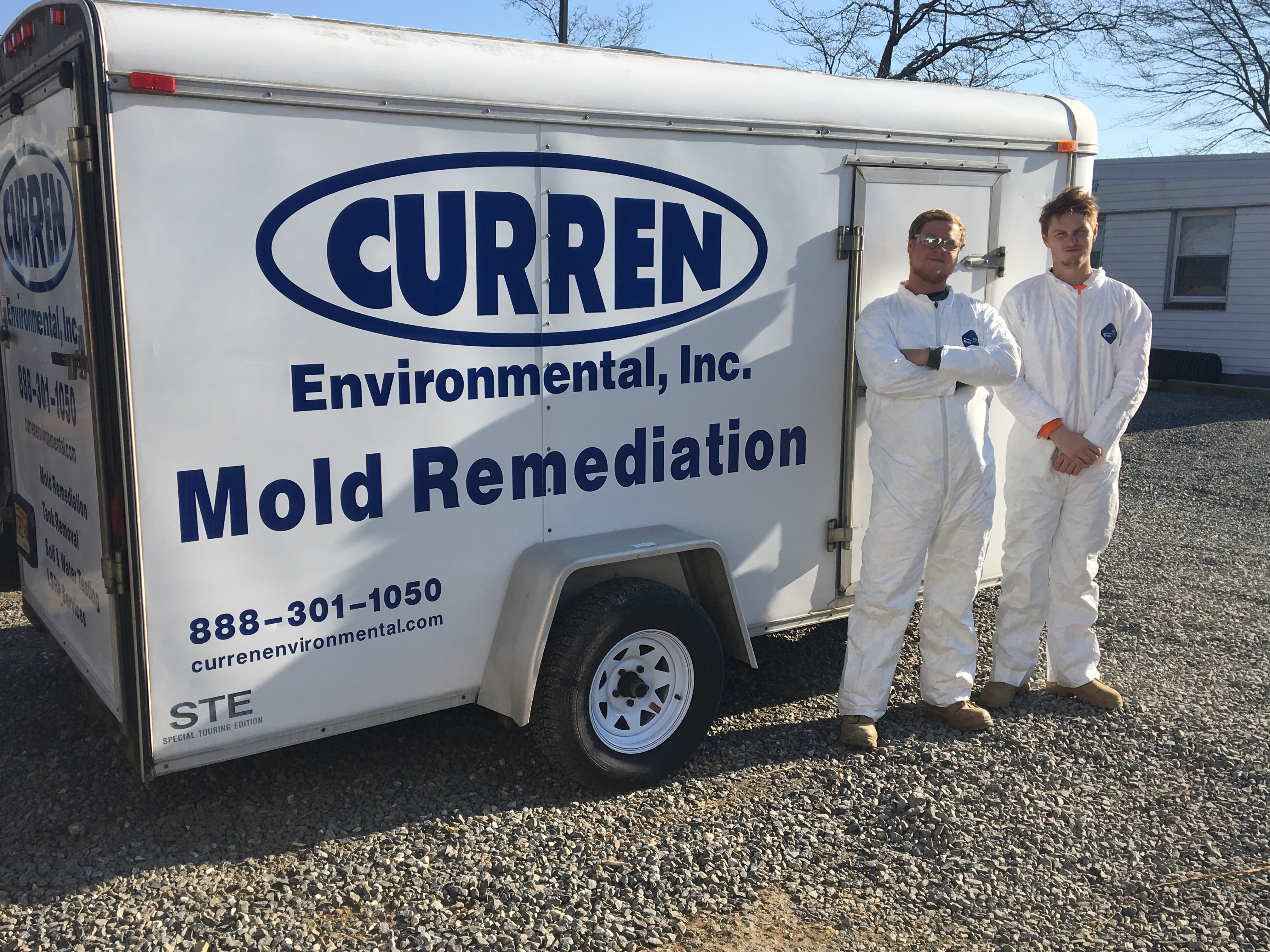 mold remedition trailer