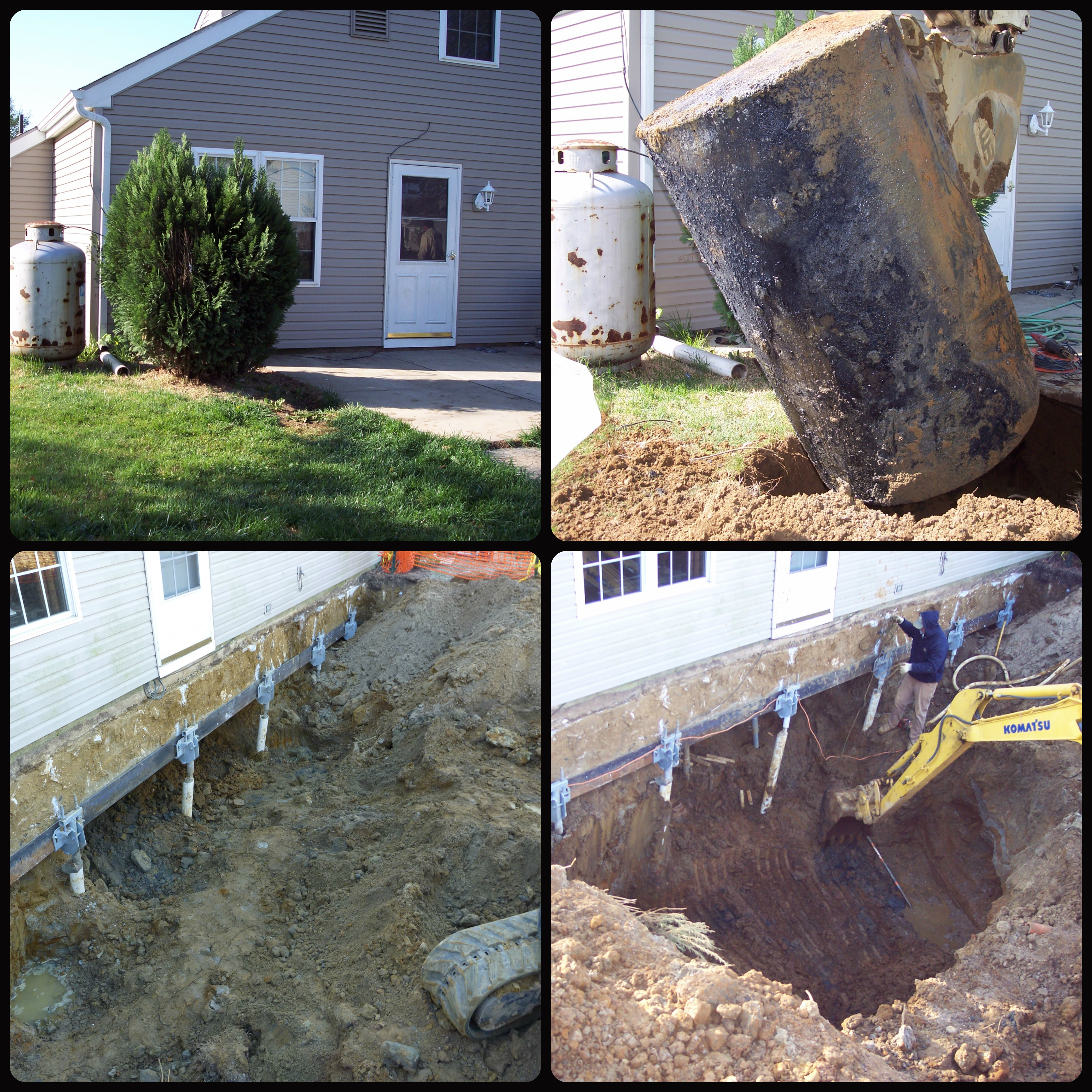 oil tank leak and remediation