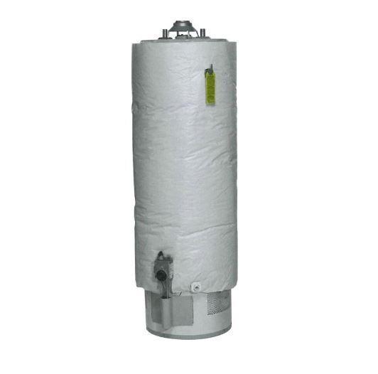 wrapping the hot water heater