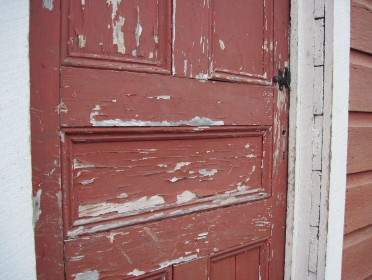 Lead Paint on Door